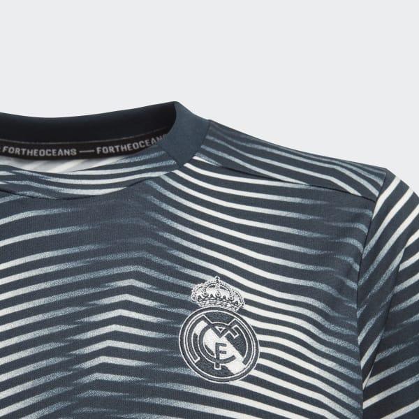 Camiseta calentamiento primera equipación Real Madrid - Gris adidas ... 6139fe662a14a