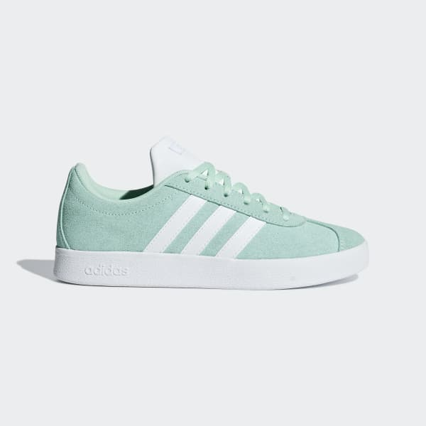91c91cce093c7 adidas VL Court 2.0 Shoes - Turquoise