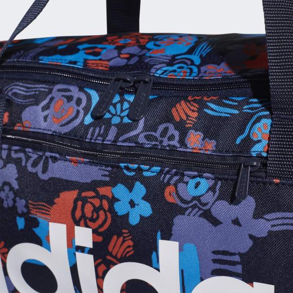 454995a142861 Bolsa de deporte pequeña Linear Core Graphic - Azul adidas