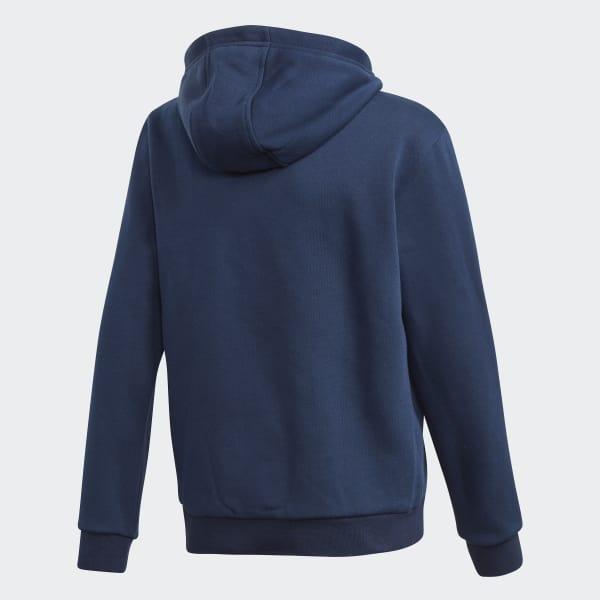 adidasadidas 12 France Sweat shirt à Bleu capuche Zip UzpqSMV