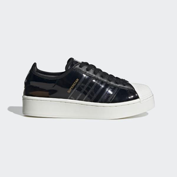 adidas Originals Sko Superstar Sort m. Guld