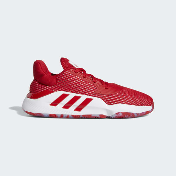 adidas Pro Bounce 2019 Low Shoes - Red