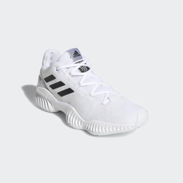 dd2b664024681 adidas Pro Bounce 2018 Low - White