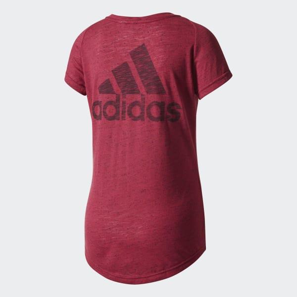 Camiseta Winners - Vermelho adidas  6c095181ed9c2