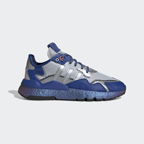adidas Nite Jogger Schoenen Blauw | adidas Officiële Shop