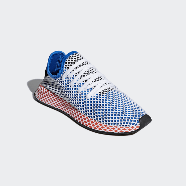 45007ba6a8bb9 adidas Deerupt Runner Shoes - Blue