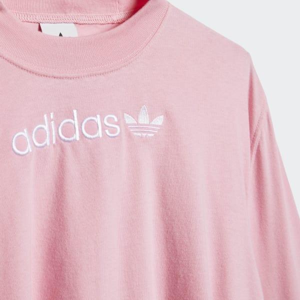 e28386f8515 Camiseta Tape - Rosa adidas