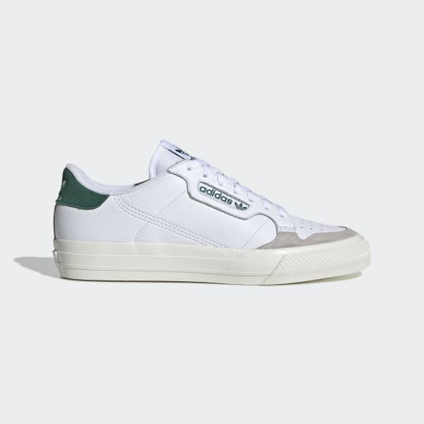 Adidas Continental Vulc Cloud WhiteCollegiate Green EF3534