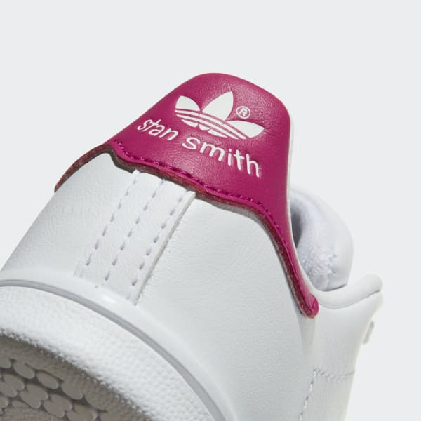 Clothing, Shoes & Accessories Adidas Stan Smith Infants/toddlers Shoes White/bold Pink Bb2999 High Quality Goods