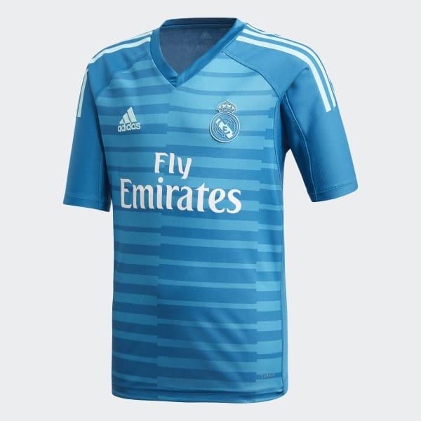b22de555a Camiseta portero segunda equipación Real Madrid - Azul adidas ...