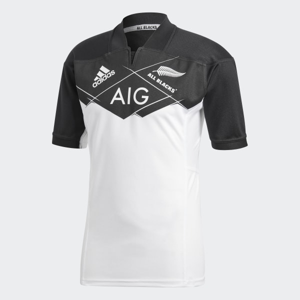 d735bfa8cf3 adidas All Blacks Away Jersey - White | adidas New Zealand