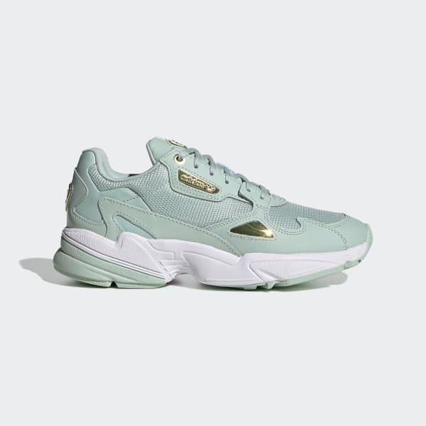 adidas Кроссовки Falcon - зеленый