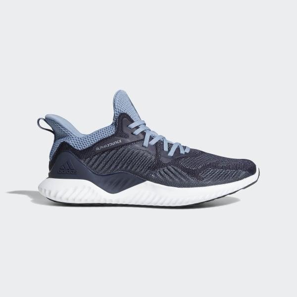 adidas Alphabounce Beyond Shoes - Blue | adidas US | Tuggl
