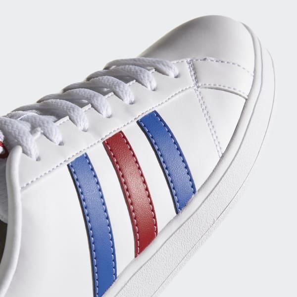 adidas advantage homme bleu blanc rouge