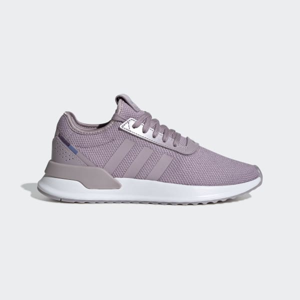 adidas purple and white shoes