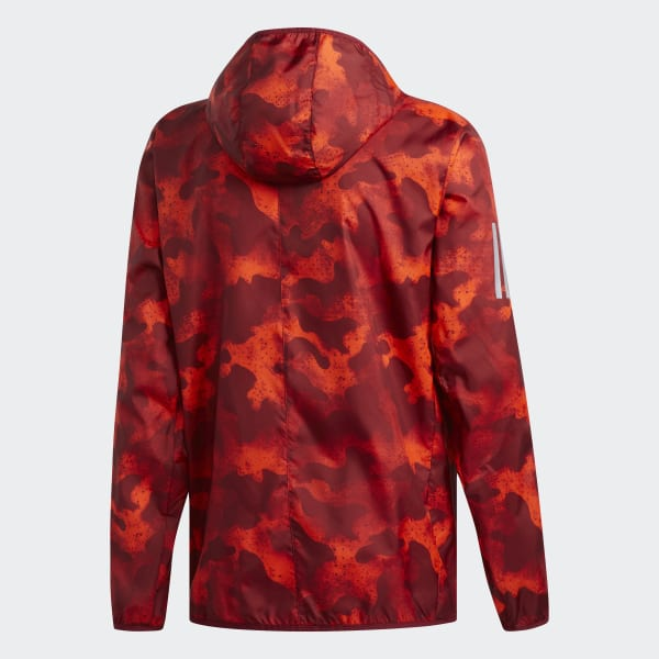Herren Jacke adidas Own The Run Orange