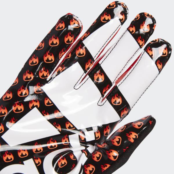 adidas Adizero 5-Star 7 0 Emoji Fire Gloves - Black | adidas US