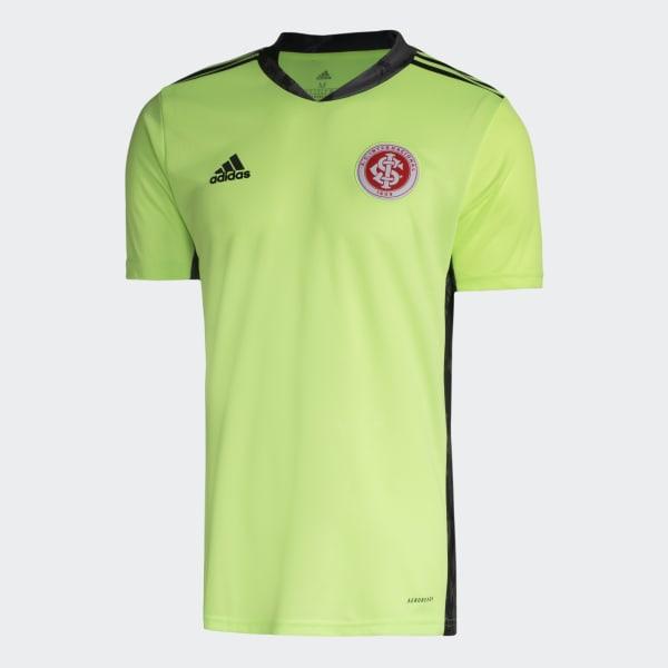 Camisa Goleiro Internacional I Verde Adidas Adidas Brasil