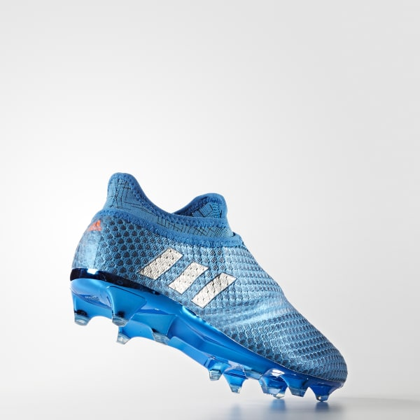 sale retailer 1ec6c c2336 adidas Mens Messi 16+ PUREAGILITY Firm Ground Boots - Blue  adidas Canada