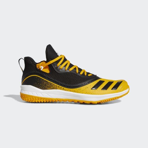 adidas Icon V Turf Shoes - Yellow