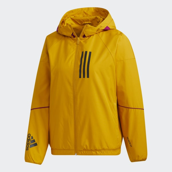 adidas W.N.D. Warm Jacke Gold | adidas Deutschland