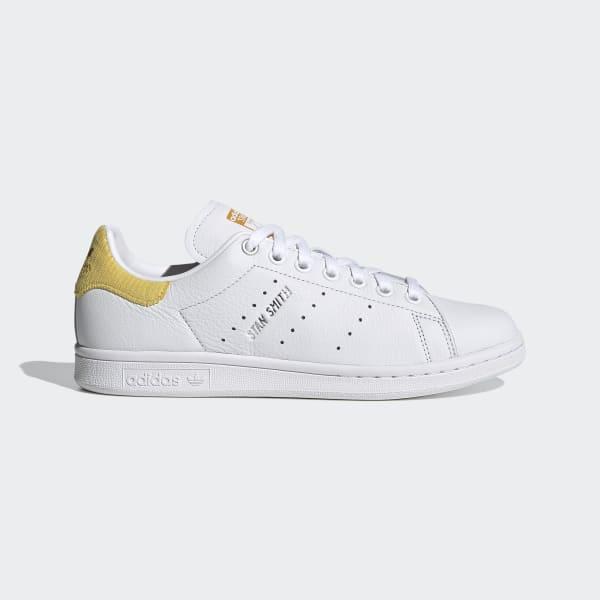 adidas stan smith blanche et jaune