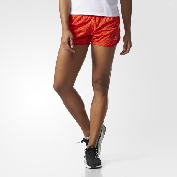 adidas Shorts 100-Meter-Dash Graphic Adidas - Naranja  14e66b33833