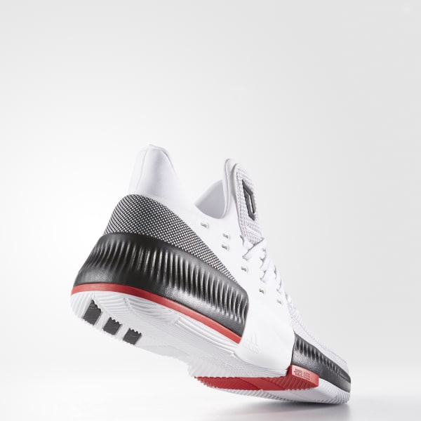 online retailer 9a99b 5217e adidas Mens DAME 3 RIP City Shoes - White  adidas Canada
