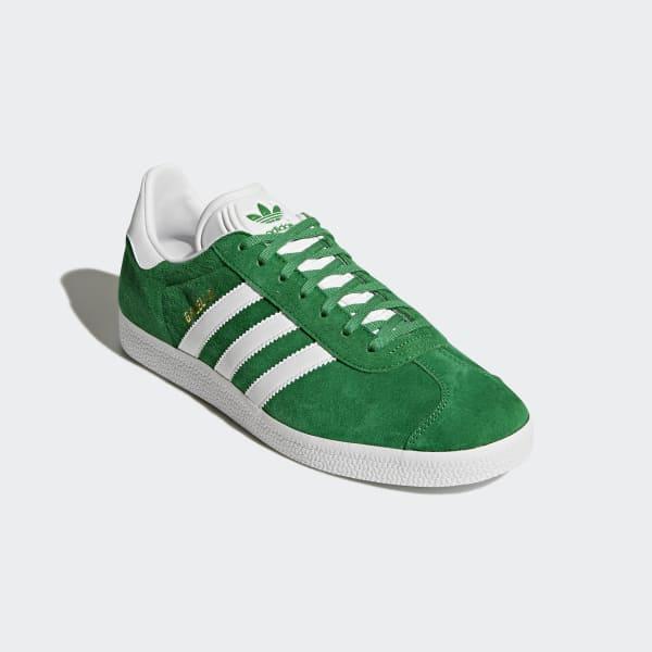 Permanecer de pié sin cable Espinoso  adidas Tenis Gazelle - Verde | adidas Mexico