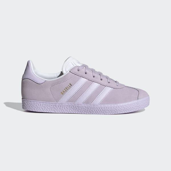 Kids Gazelle Purple Tint Shoes | adidas US