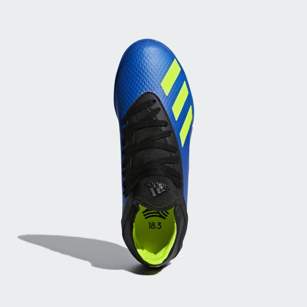 Zapatos de Fútbol X Tango 18.3 Césped Artificial - Azul adidas ... b264074aa243c