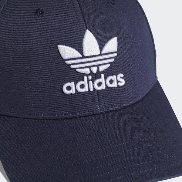 Gorra Trefoil Baseball - Azul adidas  ee6ff9b3633