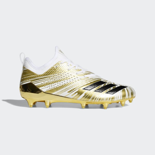 sneakers for cheap dd4e6 868ba adidas Adizero 5-Star 7.0 Metallic Cleats - Gold  adidas US