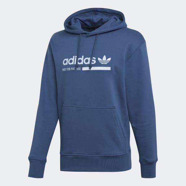 Acherter Bleu adidas Originals Sweat à Capuche Street 12