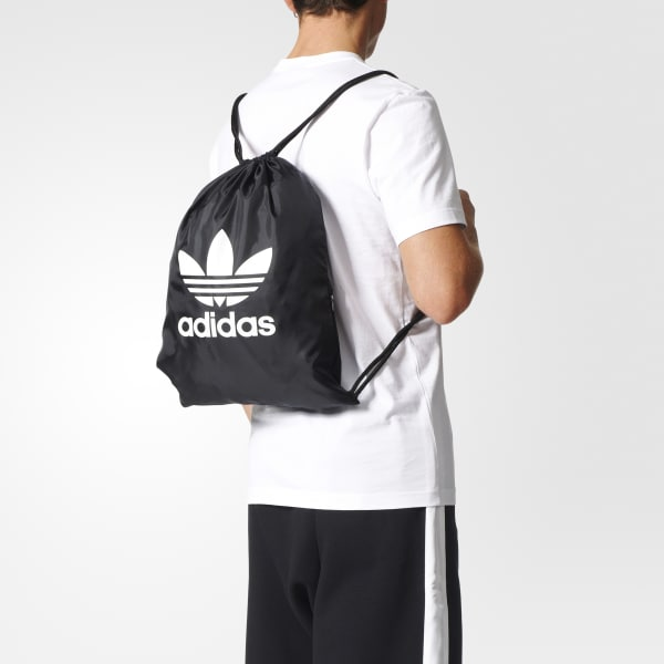 1d975ea4b8 adidas Trefoil Gym Sack - Black