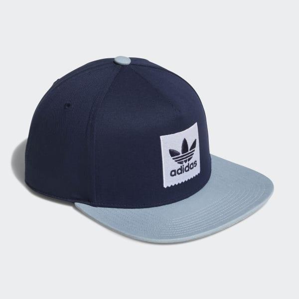 Gorra Trifolio Snapback Two-Tone - Azul adidas  1fa77c5a5c3