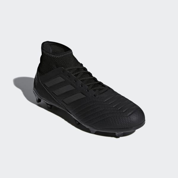 adidas Calzado Predator 18.3 Firm Ground - Negro  9f149dc165c40