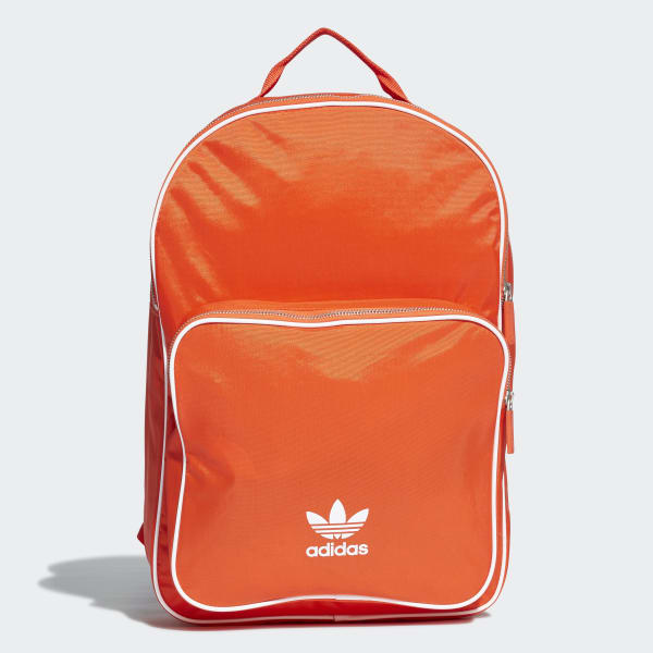 4b89ea2196 adidas Classic Backpack - Orange