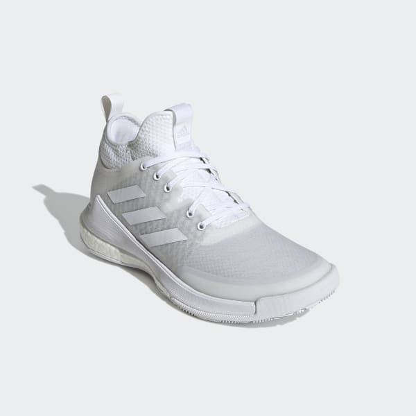Hvid Sort Adidas Crazy Heat Basketball Sko Herre