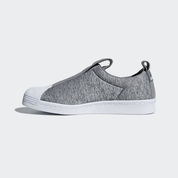 low priced bb4be 03b1a adidas Superstar BW3S Slip-on Shoes - Grey  adidas US