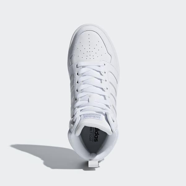 new product da2bf e25e5 adidas Cloudfoam Super Hoops Mid Shoes - White  adidas Irela