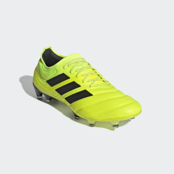 adidas Chaussure Copa 19.1 Terrain souple jaune | adidas