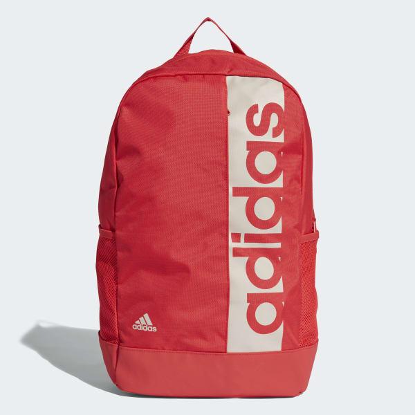 adidas Mochila Linear Performance Rojo | adidas Argentina
