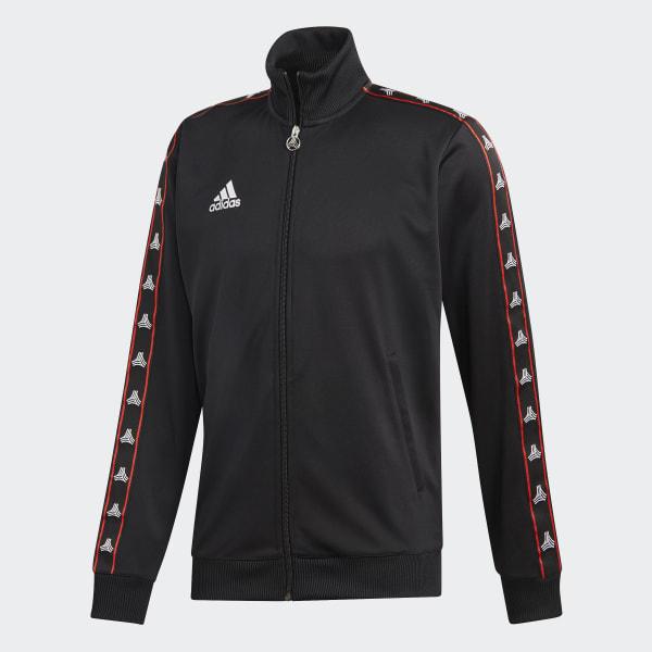 Rico repentino llegada  adidas TAN Tape Clubhouse Jacket - Black | adidas Turkey