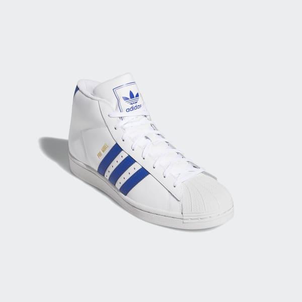 adidas pro model schoenen  wit  adidas belgium