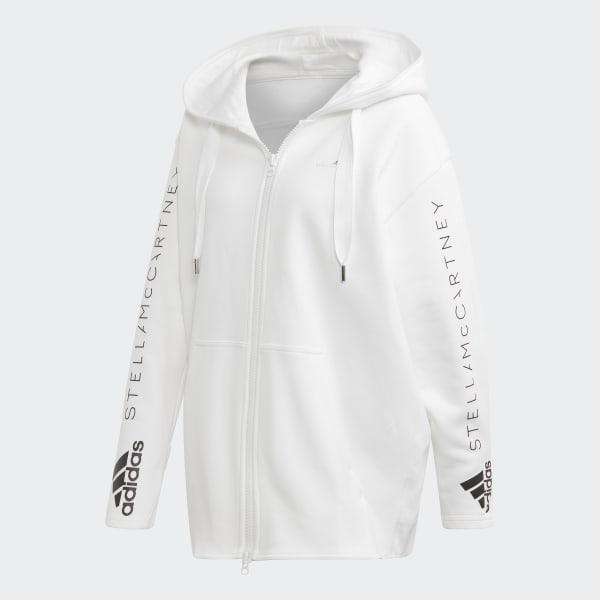 Veste à capuche Oversize Blanc adidas | adidas France