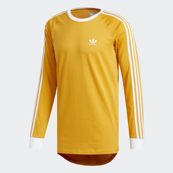 adidas california t shirt yellow