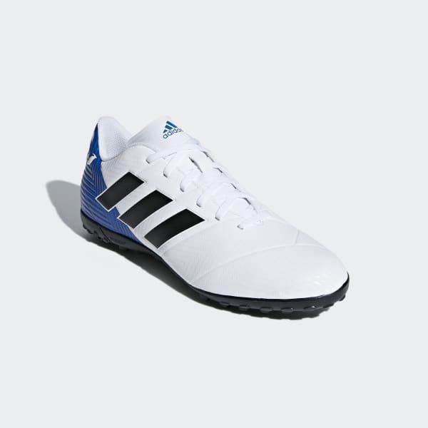 adidas Calzado de Fútbol Nemeziz Messi Tango 18.4 Pasto Sintético - Blanco   6ce38bd7ed1a1