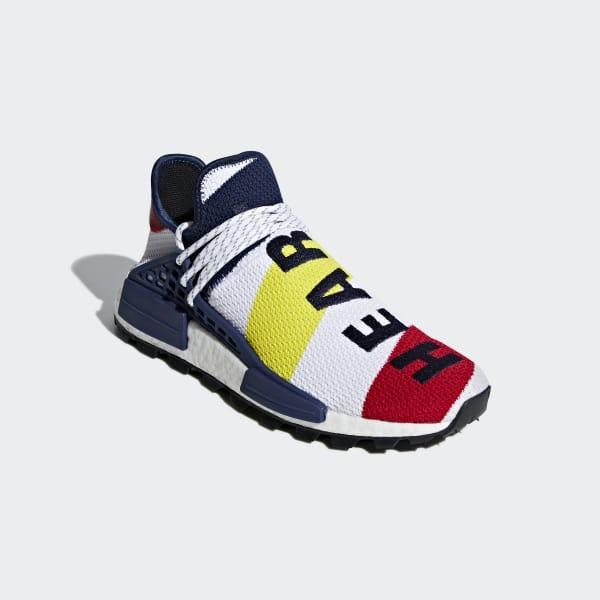 165741353e9 adidas Pharrell Williams BBC Hu NMD Shoes - White