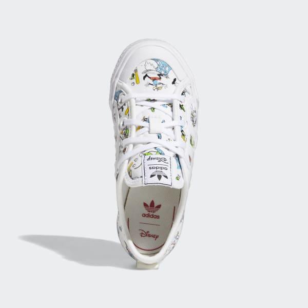 Chaussure Nizza x Disney Sport Goofy - Blanc adidas | adidas France